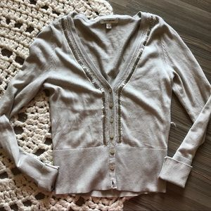 Banana republic tan sweater size small